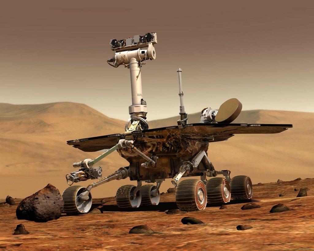 Astromobile Mars Exploration Rover