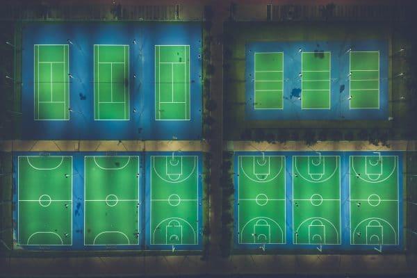 terrain de sport